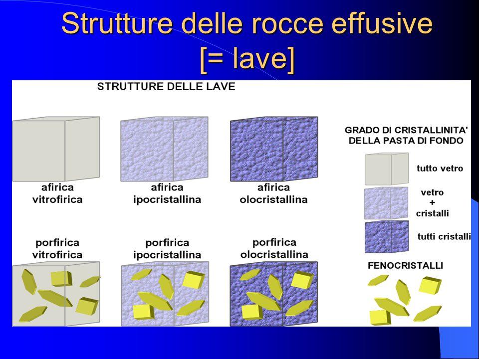Strutture delle rocce effusive [= lave]